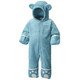 Columbia Foxy Baby II Bunting Fleece Suits Toddlers Pacific Rim